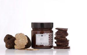Trufella Trüffel Schokocreme schwarze schokolade mit Trüffel