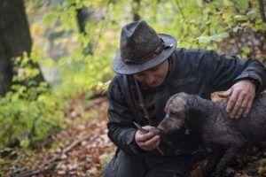 Online Buchbare Trüffelsuche Trüffel Trüffelhund tour im Allgäu Trüffel finden