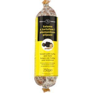 Edelschimmelsalami mit schwarzem Trüffel 250g