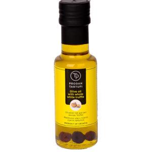 Olivenöl mit ganzem weißem Trüffel 250 ml