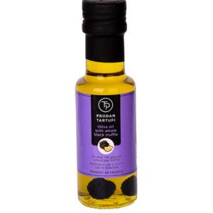 Olivenöl mit ganzem schwarzen Trüffel 250 ml