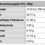 Käse mit schwarzem Trüffel – Kuhkäse ca. 350g
